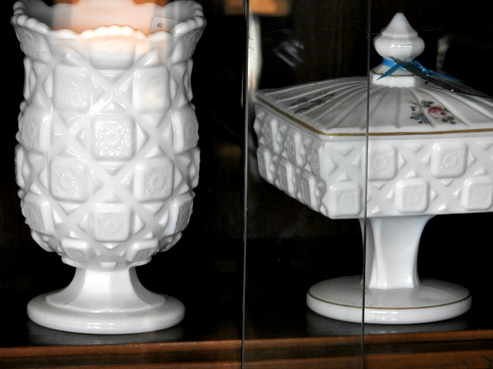 Beautiful Old Milk Glass is Still Highly Collectible